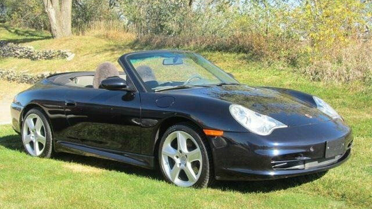 2004 Porsche 911 Cabriolet for sale 100820117