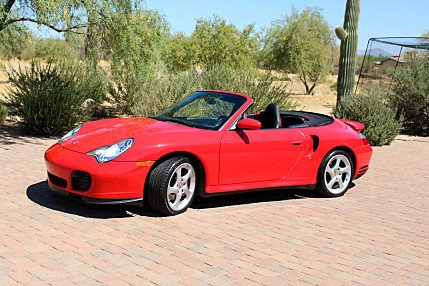 2004 Porsche 911 Turbo Cabriolet for sale 100775461