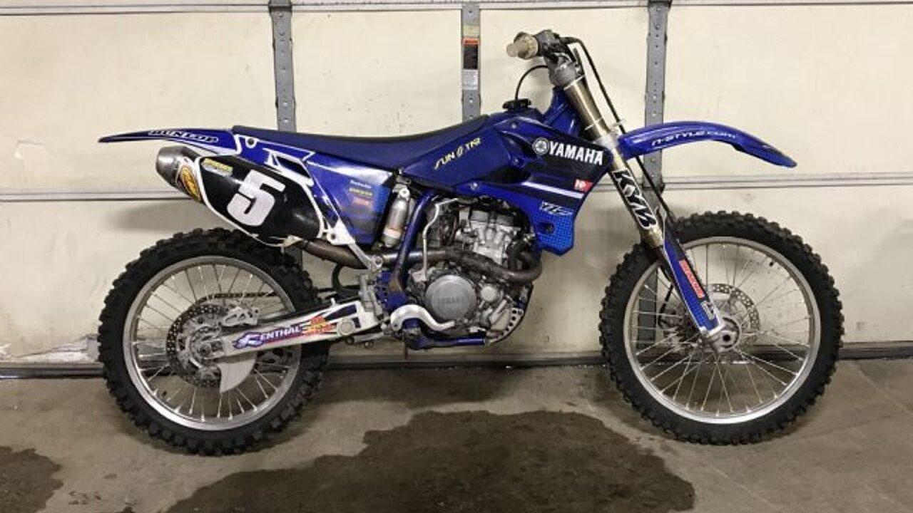 2004 Yamaha YZ250F for sale 200550178