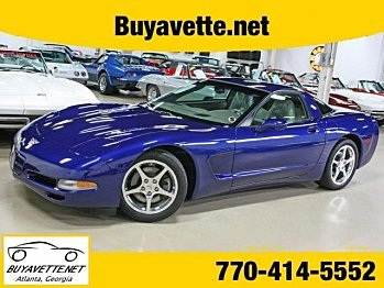 2004 chevrolet Corvette Coupe for sale 100835674