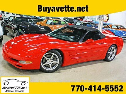 2004 chevrolet Corvette Convertible for sale 101014491