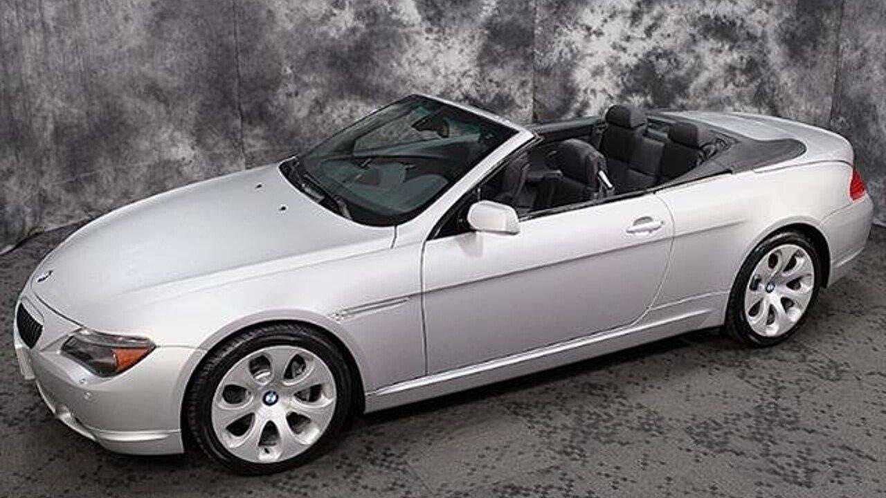 BMW Ci Convertible For Sale Near Kingston Pennsylvania - 2005 bmw 645ci convertible price