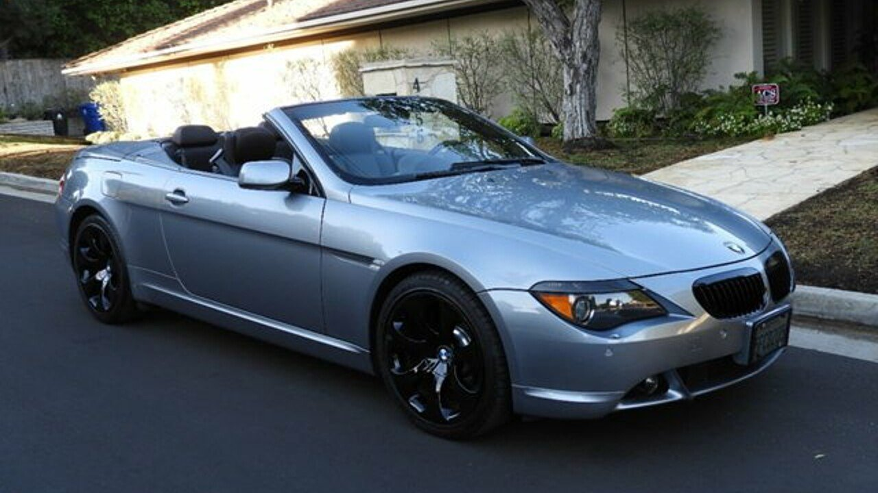 BMW Ci Convertible For Sale Near Los Angeles California - 2005 bmw 645ci convertible price