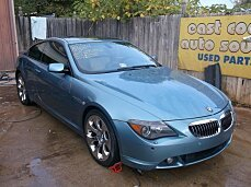 2005 BMW 645Ci Coupe for sale 100291711