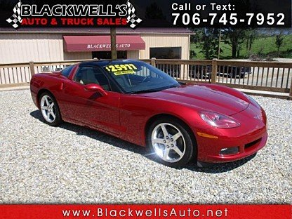 2005 Chevrolet Corvette Coupe for sale 101024125