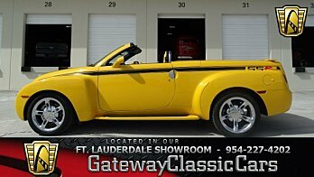 2005 Chevrolet SSR for sale 100924052