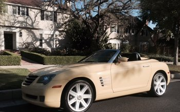 2005 Chrysler Crossfire Limited Convertible for sale 100782512