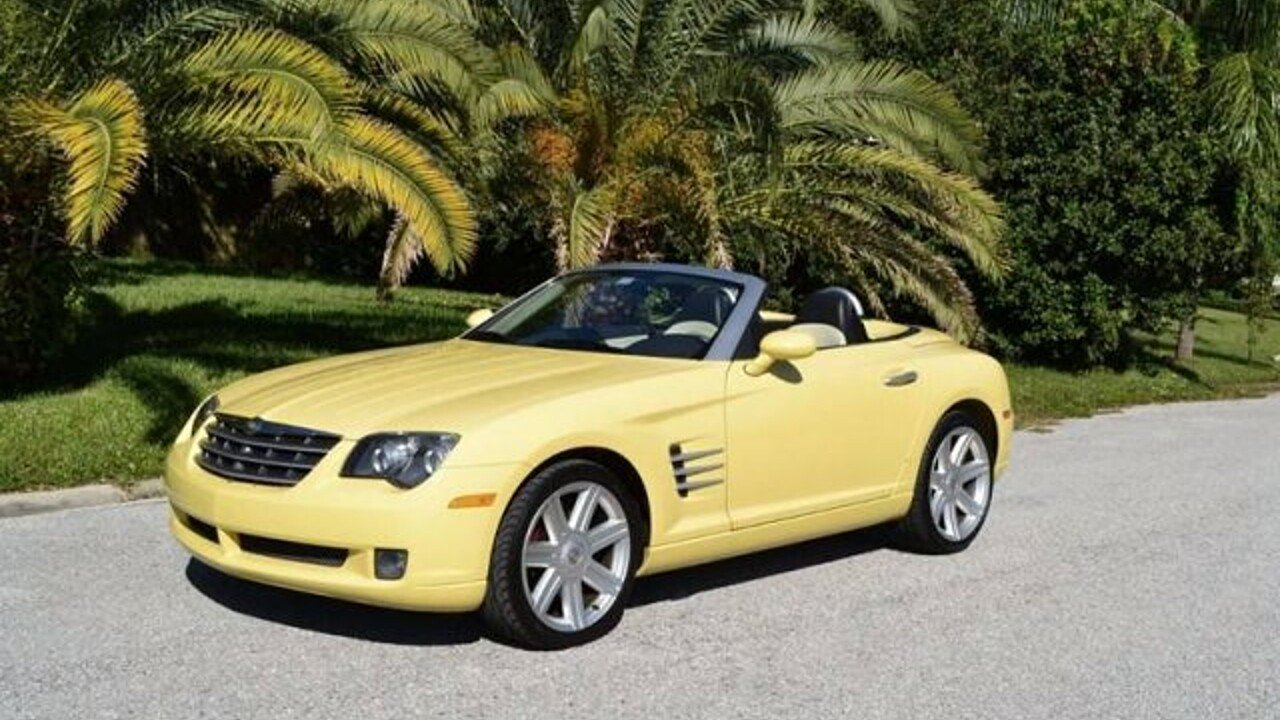 2005 Chrysler Crossfire Limited Convertible for sale 100924199