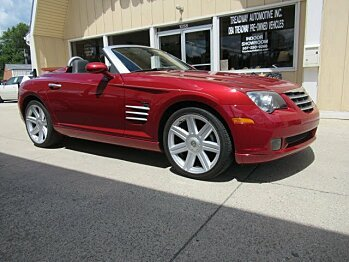 2005 Chrysler Crossfire Limited Convertible for sale 101006046