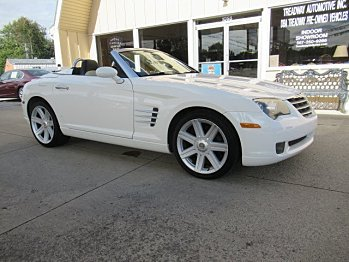 2005 Chrysler Crossfire Limited Convertible for sale 101042507