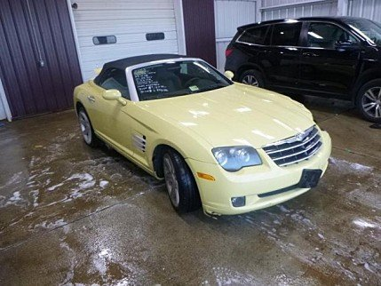 2005 Chrysler Crossfire Limited Convertible for sale 100937483