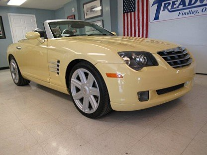 2005 Chrysler Crossfire Limited Convertible for sale 100940819