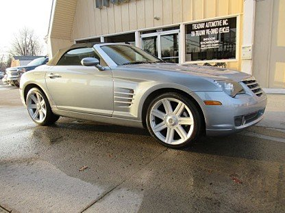 2005 Chrysler Crossfire Limited Convertible for sale 100947816