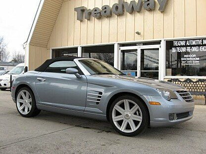 2005 Chrysler Crossfire Limited Convertible for sale 100954090
