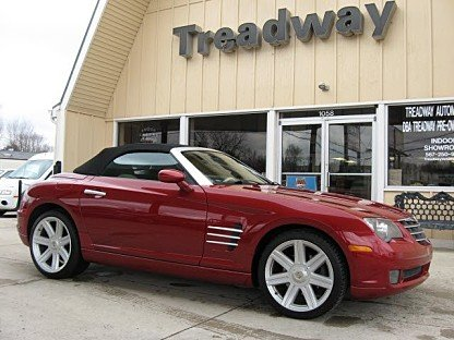 2005 Chrysler Crossfire Limited Convertible for sale 100954092