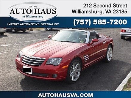 2005 Chrysler Crossfire Limited Convertible for sale 100956503