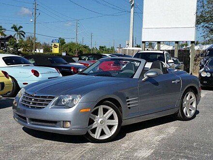2005 Chrysler Crossfire Limited Convertible for sale 100962741