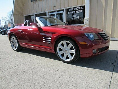 2005 Chrysler Crossfire Limited Convertible for sale 100976541