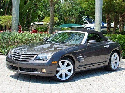 2005 Chrysler Crossfire Limited Convertible for sale 100996565