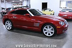 2005 Chrysler Crossfire Limited Coupe for sale 101003209