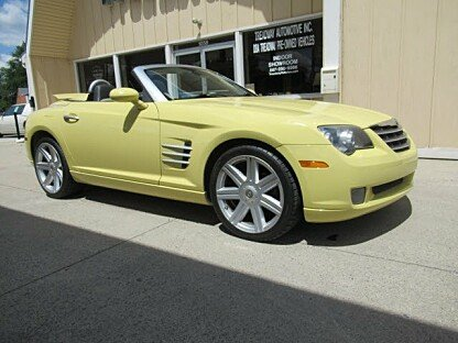 2005 Chrysler Crossfire Limited Convertible for sale 101006049
