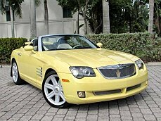 2005 Chrysler Crossfire Limited Convertible for sale 101051812