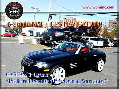 2005 Chrysler Crossfire Limited Convertible for sale 101055197