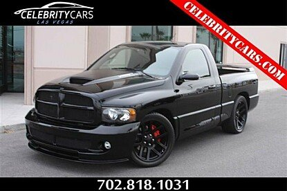 2005 Dodge Ram SRT-10 2WD Regular Cab for sale 100722937