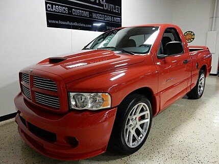 2005 Dodge Ram SRT-10 2WD Regular Cab for sale 100850491