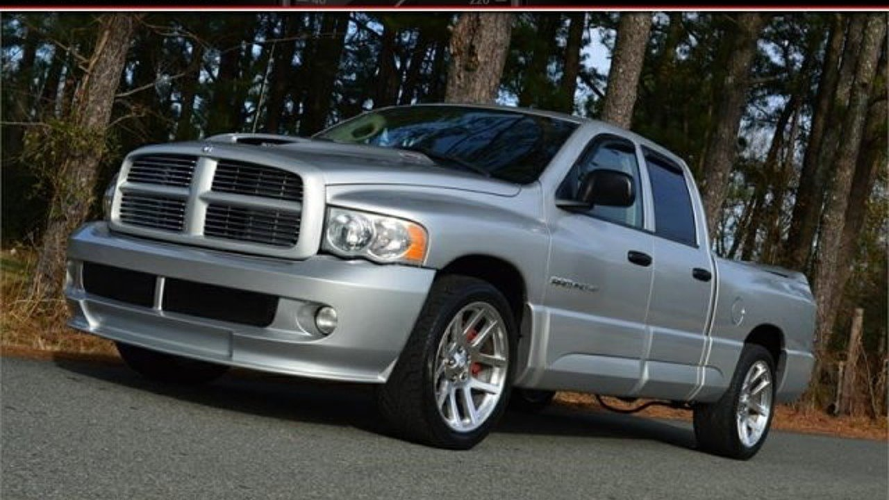 2005 Dodge Ram SRT-10 2WD Quad Cab for sale 100940473