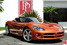 2005 Dodge Viper SRT-10 Convertible for sale 100773320