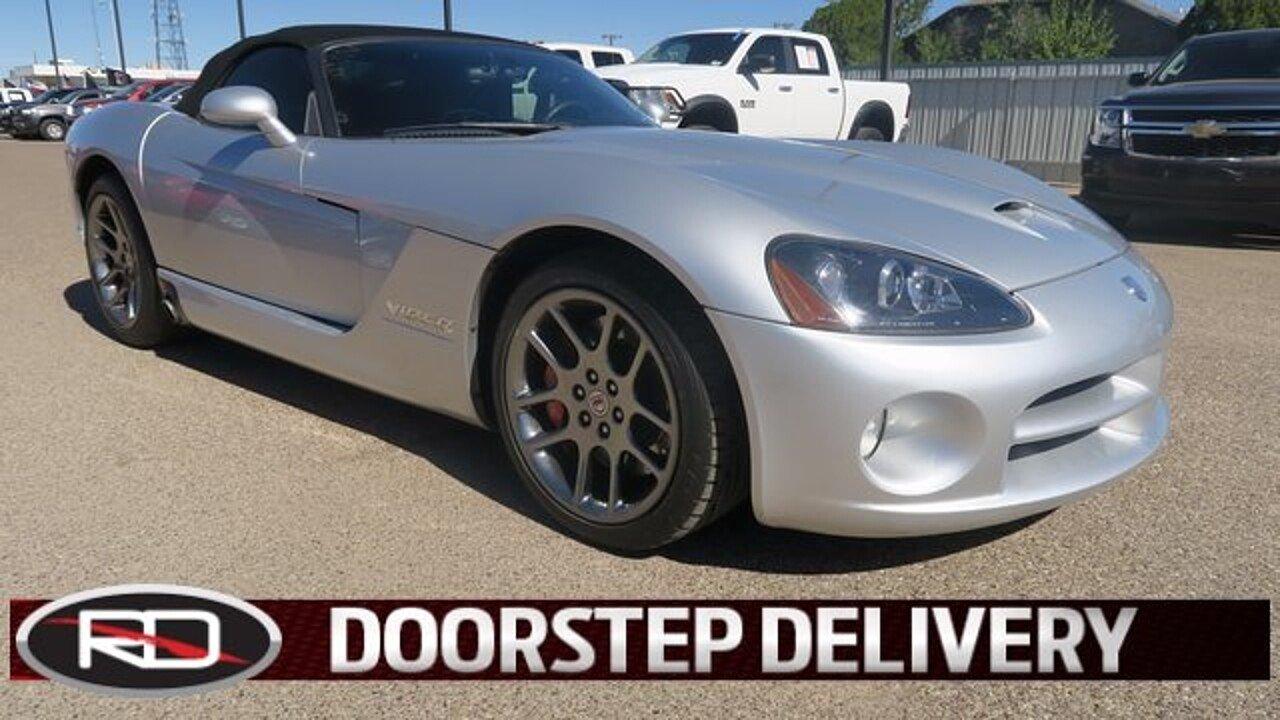 2005 Dodge Viper SRT-10 Convertible for sale 100879053