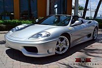 2005 Ferrari 360 Spider for sale 100721653