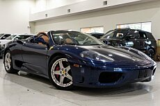 2005 Ferrari 360 Spider for sale 100884937