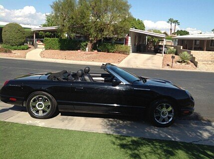 2005 ford thunderbird classics for sale classics on autotrader. Black Bedroom Furniture Sets. Home Design Ideas