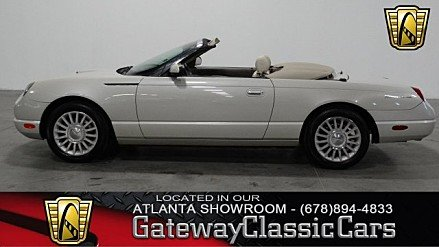 2005 Ford Thunderbird 50th Anniversary for sale 100920310