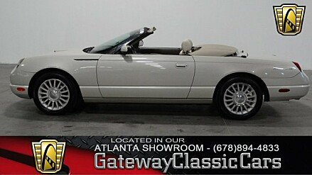 2005 Ford Thunderbird 50th Anniversary for sale 100932895