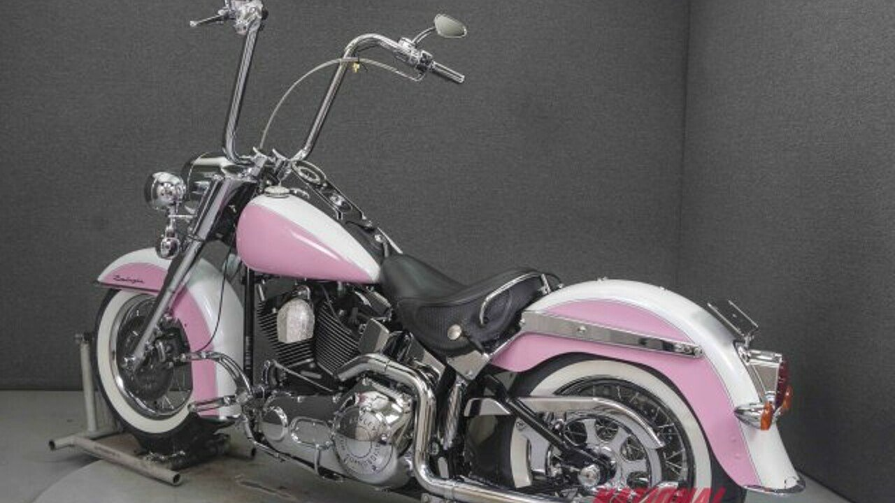 2005 Harley Davidson Softail For Sale Near Pembroke New Hampshire Pink Motorcycle 200618574