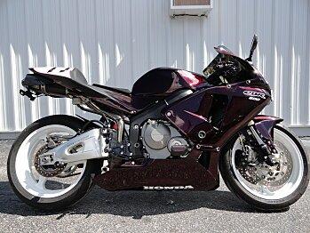 2005 Honda CBR600RR for sale 200625380