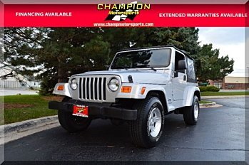 2005 Jeep Wrangler 4WD X for sale 100923105
