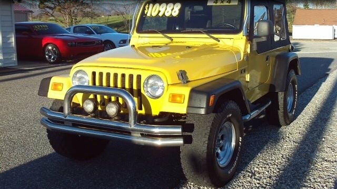 2005 Jeep Wrangler 4WD X for sale 100924696