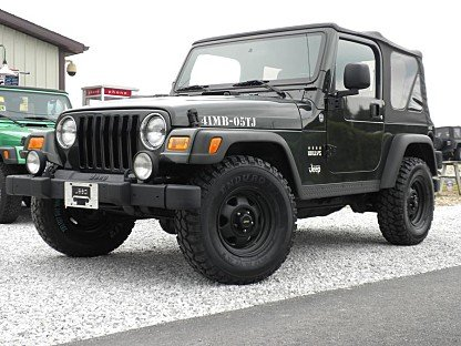 2005 Jeep Wrangler for sale 100766242