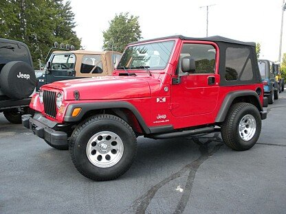2005 Jeep Wrangler for sale 100786781