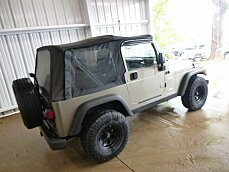 2005 Jeep Wrangler 4WD Sport for sale 100833624