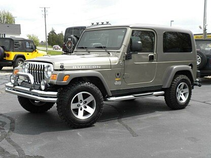 2005 Jeep Wrangler for sale 100866468
