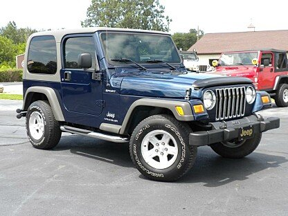2005 Jeep Wrangler for sale 100892146