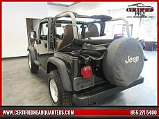 2005 Jeep Wrangler 4WD Sport for sale 100907166