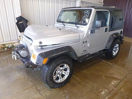 2005 Jeep Wrangler 4WD X for sale 100919383