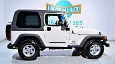 2005 Jeep Wrangler 4WD Sport for sale 100925716