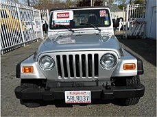 2005 Jeep Wrangler 4WD X for sale 100965839